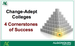 Change Adept Colleges - 4 Cornerstones Kent MacDonald - 2013