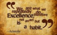 Aristole and Excellence