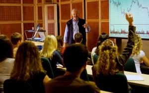 Professor Gallant - Economics Class at StFX